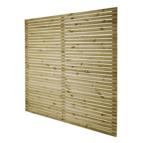 Goodhome Płot panelowy wenecki lemhi 180 x 180 x 3,6 cm