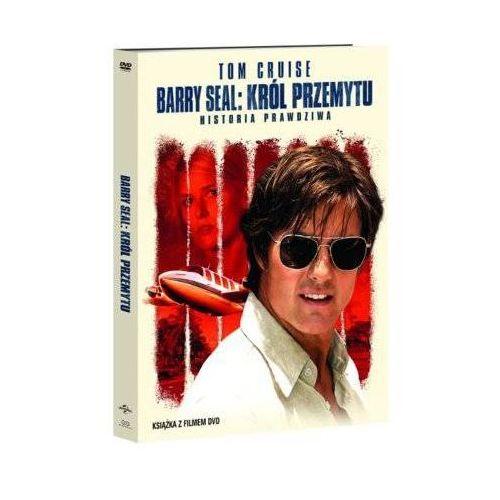 Filmostrada Barry seal: król przemytu (dvd) + książka (9788380533646)