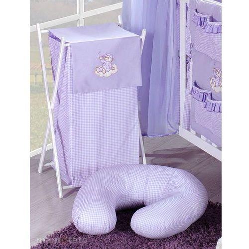 kosz na bieliznę śpioch na chmurce w fiolecie marki Mamo-tato