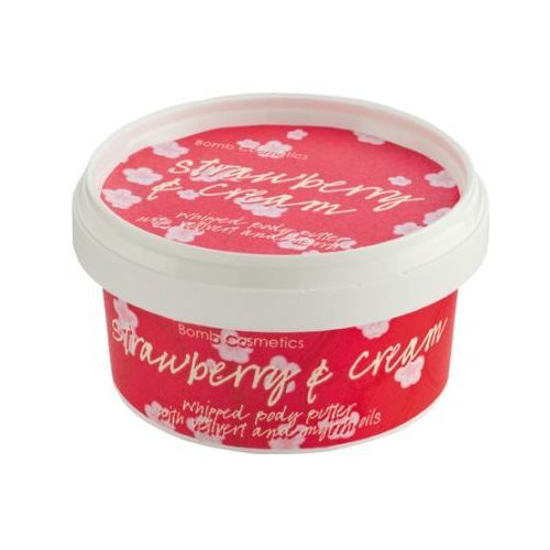 Bomb Cosmetics Strawberry and Cream - masło do ciała 210ml (5037028248317)