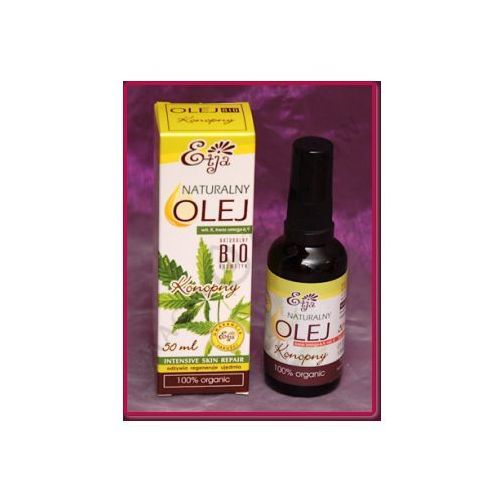 Olej konopny bio - 50 ml marki Etja