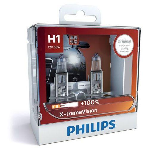 x-tremevision h1   halogenowa żarówka samochodowa marki Philips®