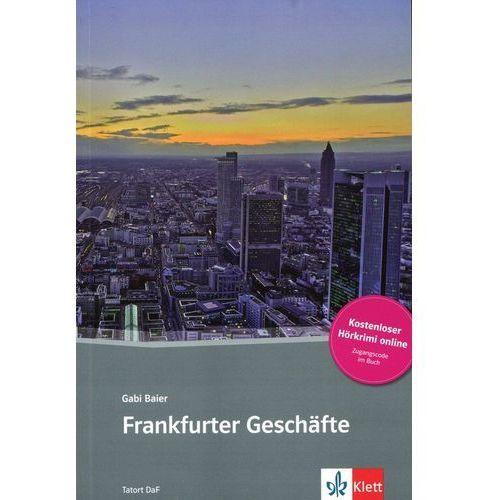 Frankfurter Geschäfte, m. Online-Angebot, oprawa miękka