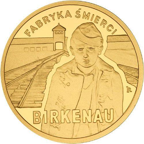 Nbp 100 zł - 65. rocznica oswobodzenia kl auschwitz-birkenau - 2010