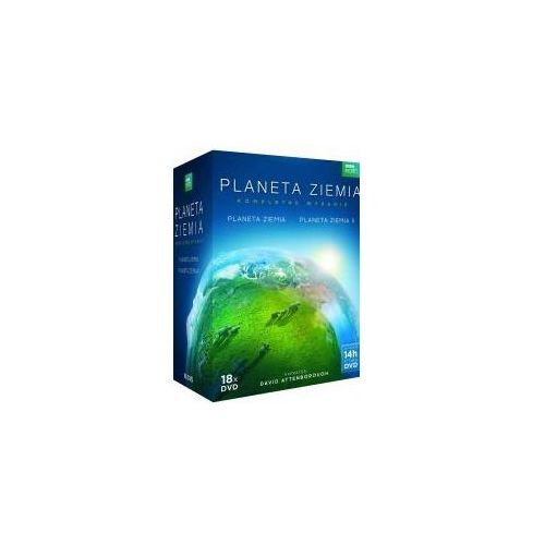 Planeta ziemia - 18 dvd marki Bbc