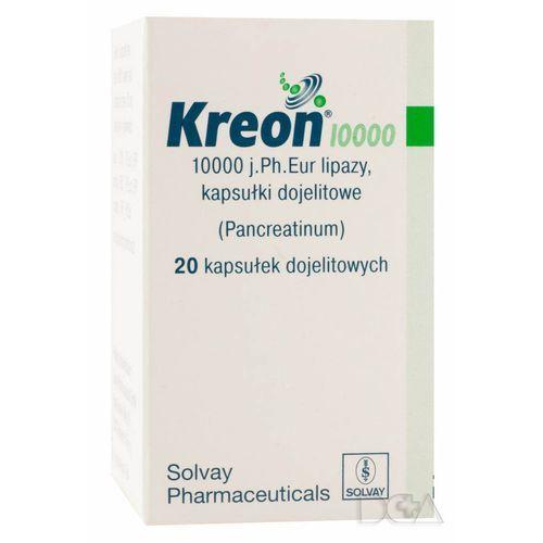 Kreon 10.000j 150 mg x 20 kaps (kapsułki)