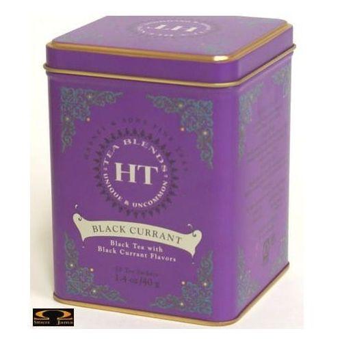 Herbata black currant, puszka piramidki 20 szt. marki Harney & sons