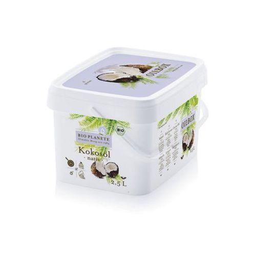 Olej kokosowy nierafinowany tłoczony na zimno virgin BIO 2,5 l - BIO PLANETE (4260355581463)