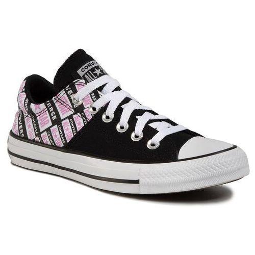 Trampki - ctas madison ox 567021c black/peony pink/white marki Converse