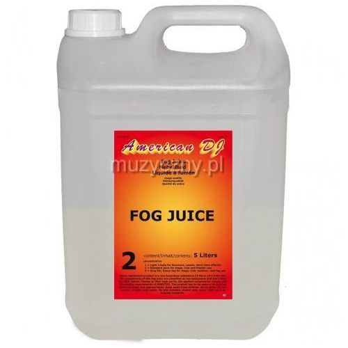 fog juice medium płyn do dymu 5 litrów marki American dj