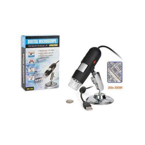 Mikroskop cyfrowy usb (podłączany do komputera) o powiększeniu 25-200x!!. marki Microview