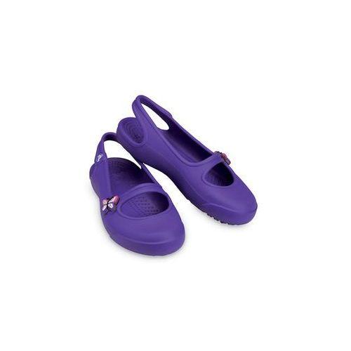 Dziewczęce balerinki Girl's flat Gabby w kolorze fioletowym | rozmiar 21-22 ze sklepu LIMANGO