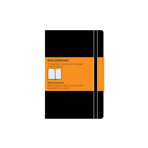 Moleskine Large Ruled Notebook Black (9788883701122)