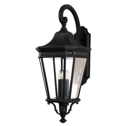 Latarnia COTSWOLD LANE FE/COTSLN4/M BK IP44 - Elstead Lighting - Rabat w koszyku