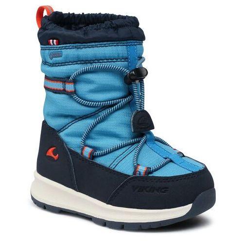 Śniegowce VIKING - Asak Gtx GORE-TEX 3-88300-3505 Blue/Navy, kolor niebieski