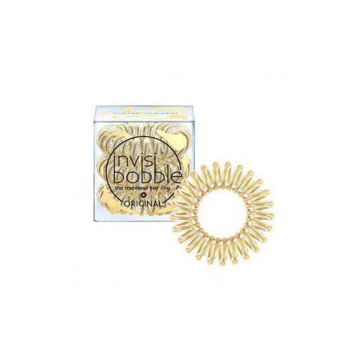 Invisibobble gumka do włosów youre golden 3szt marki Invisbooble