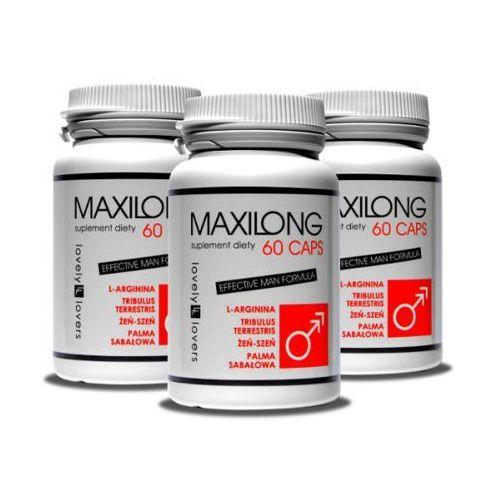 Zestaw Maxilong 3x 60 kaps. Pełna kuracja powiększająca penisa