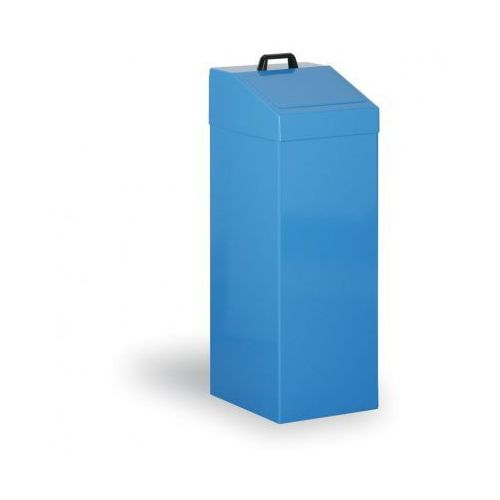 Kosze metalowe na odpady segregowane, 100 L, niebieski