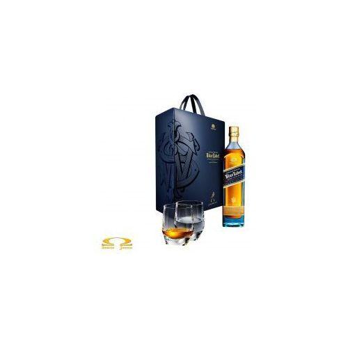 Johnnie walker Whisky blue label 0,7l limitowana edycja + 2 szklanki