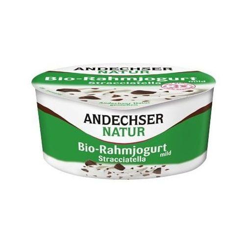 Andechser Jogurt kremowy stracciatella 10% bio 150 g natur