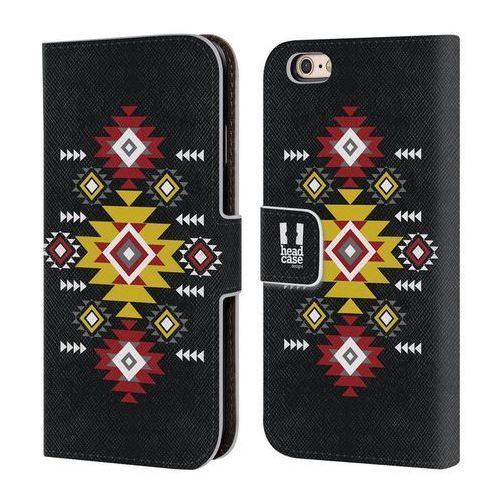 Etui portfel na telefon - neo navajo dark grey marki Head case