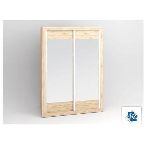 Modern 28/l szafa z drzwiami przesuwnymi z lustrami marki Ml meble