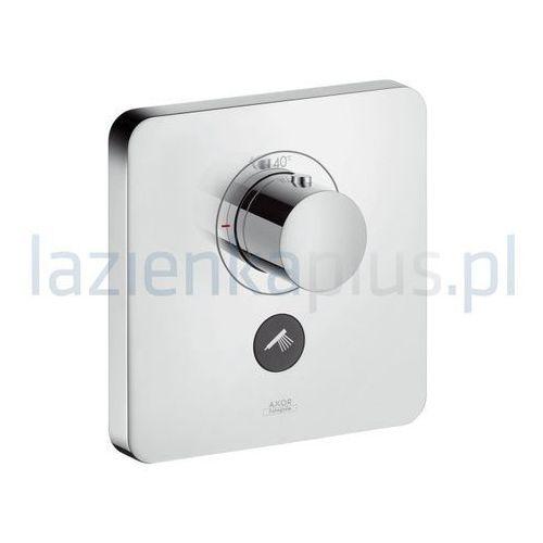Hansgrohe Select Hansgrohe bateria termostatyczna showerselect highflow do jednego odbiornika z dodatkowym wyjściem montaż podtynkowy element zewnętrzny chrom - 36706000 36706000 (łazienkowa armatura)