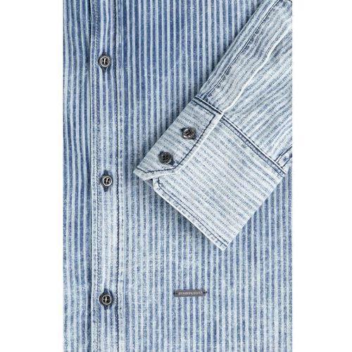 Striped Denim Shirt Gr. EU 48, koszula męska Dsquared2