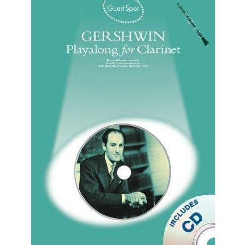 PWM Gershwin George - Playalong for clarinet (utwory na klarnet + CD)