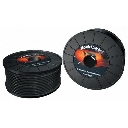 Rockcable kabel instrumentalny roll - 100 meters - Ă″ 6 mm / black