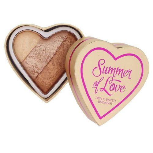 Makeup revolution i ♥ makeup summer of love puder brązujący odcień hot summer of love 10 g (5029066053350)