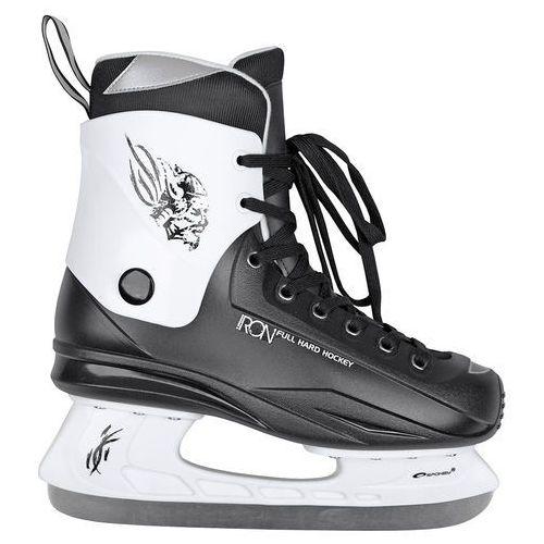 Łyżwy hokejowe SPOKEY Iron 45 - oferta [05f6d84123cfc379]