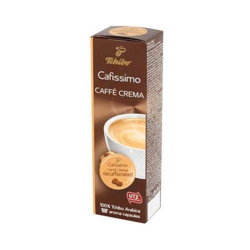 Tchibo 10x7g cafissimo caffe crema decaffeinated kawa mielona bezkofeinowa w kapsułkach