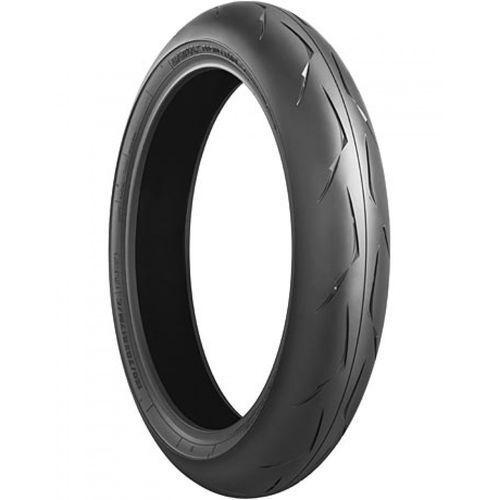 r10 f evo type 2 ( 120/70 zr17 tl (58w) m/c, rennreifen (mischung) medium, koło przednie ) marki Bridgestone