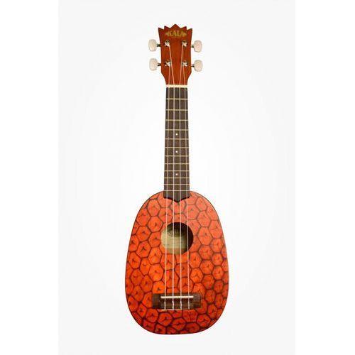 mahogany ply soprano pineapple + soprano bag (ub-s) marki Kala