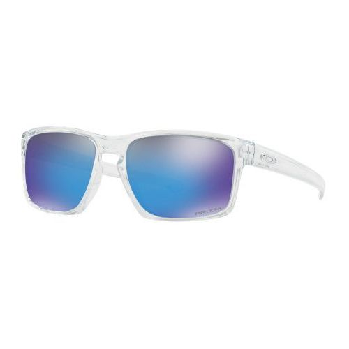 Okulary sliver polished clear prizm sapphire iridium oo9262-4757 marki Oakley