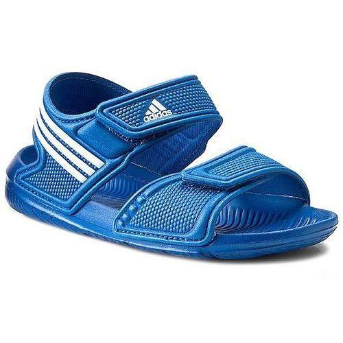 Sandały dziecięce  akwah 9 k (s74649) - niebieski marki Adidas