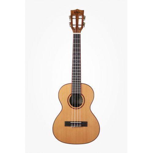 ka-atp-ctg solid cedar acacia ukulele tenorowe, + case (uc-t) marki Kala