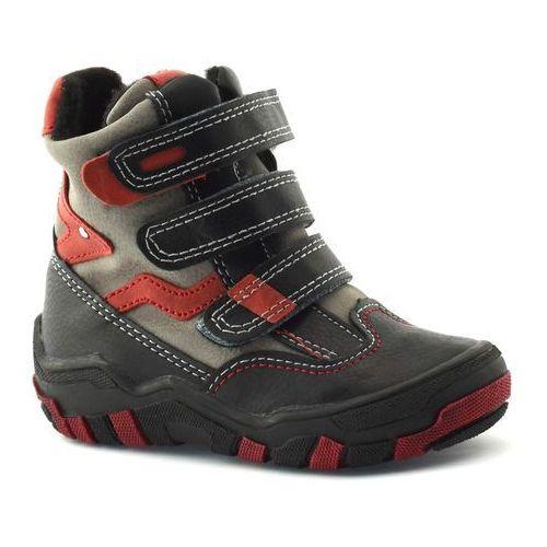 Buty zimowe dla dzieci marki Kornecki 04997, kolor czerwony