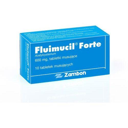 Fluimucil 600mg 10 tabletek musujących (na kaszel)