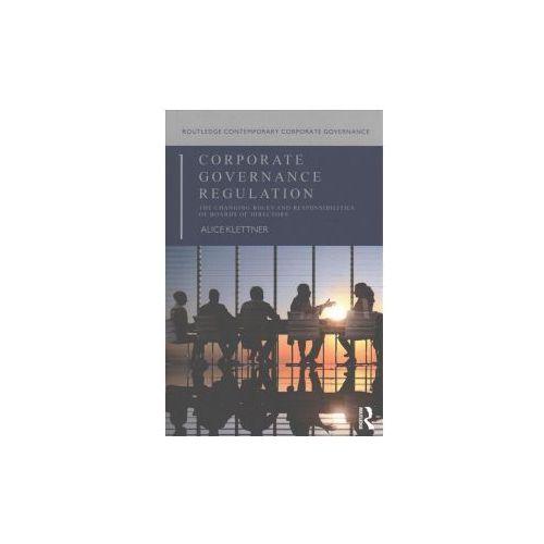 CORPORATE GOVERNANCE REGULATION (9781138910003)