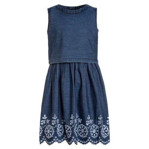 Friboo Sukienka jeansowa blue