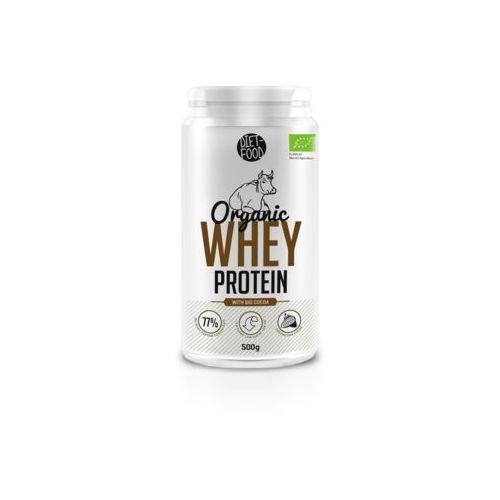 Diet-food Whey protein - białko z serwatki z kakao bio 500g (5901549275674)