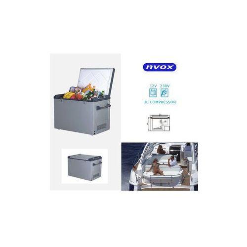 NVOX Lodówka samochodowa sprężarkowa 82l, Kompresor, 12V 230V - produkt dostępny w videobajt.pl