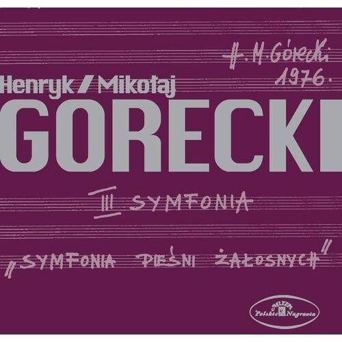Henryk mikolaj gorecki: iii symfonia piesni zalosnych op. 36 marki Warner music