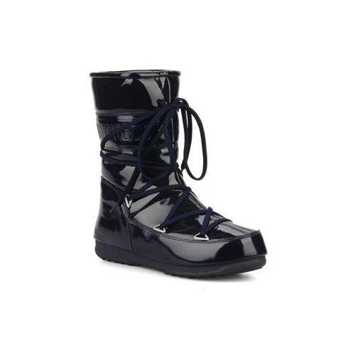 Promocja -30% : Półbuty i botki  Puddle jumper mid Damskie Niebieskie, Moon Boot