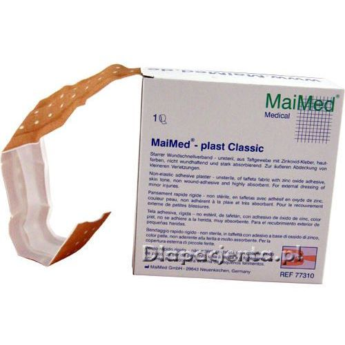 Maimed plast classic plaster z opatrunkiem do cięcia na tkaninie taftowej 5mx4cm