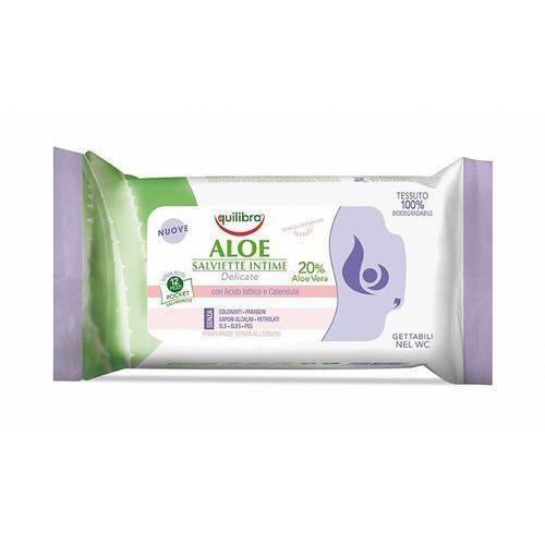 Equilibra Aloesowe chusteczki do higieny intymnej