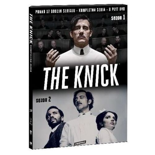 THE KNICK, SEZONY 1-2 (8DVD) (Płyta DVD)