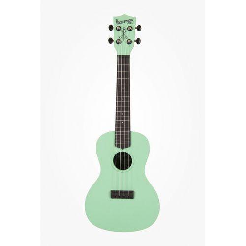 ka-cwb-gn waterman, ukulele koncertowe z pokrowcem, czarno-zielony marki Kala